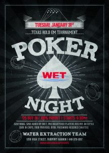 Poker Night Flyer