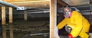 cleveland ohio crawl space sewage cleanup