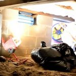 crawl space sewage leak cleveland ohio